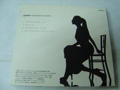 原裝絕版 1996年 12月18日 中森明菜 NAKAMORI AKINA VAMP  CD 原價  1500YEN 中古品 4