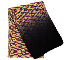 Dip-dye knit scarf by Henrik Vibskov FW09