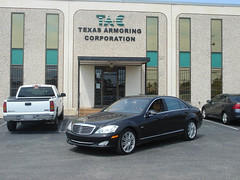 Armored Bulletproof 2009 Mercedes-Benz S600!