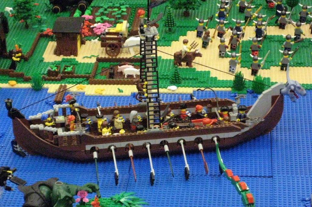 the world u0026 39 s best photos of lego and vikingship