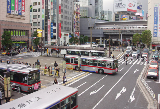 Shibuya Bus Station