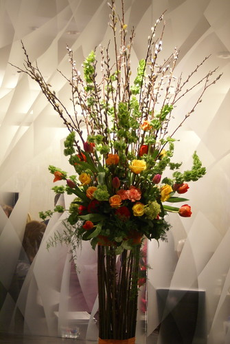 Large Flower Display in the Lux