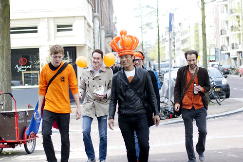 51 crew Queens Day Amsterdam 2010