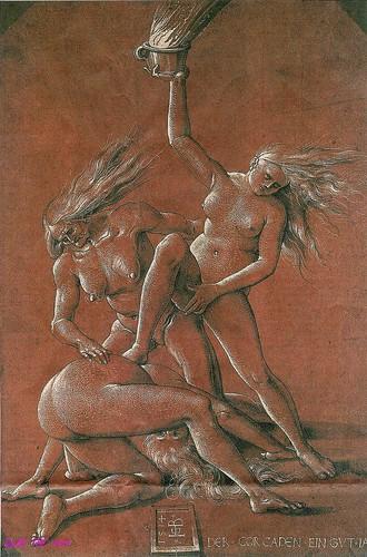 Hans Baldung (Grien) 'Neujahrsblatt 1514'