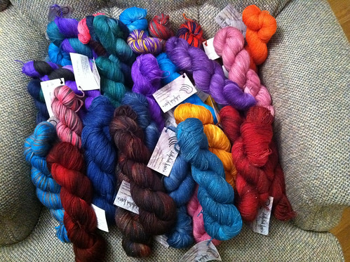 Yarns ready for MAS&W 2011