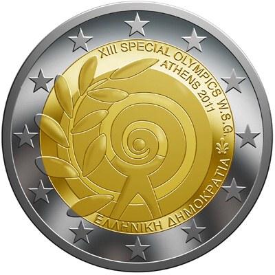 2 Euro Grécko 2011, Letné špeciálne olympijské hry – Atény 2011