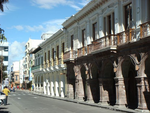 Ambato street scene...