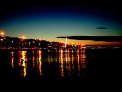 Gzelyal...Trkiye (Yener ZTRK) Tags: travel sunset sea reflection turkey trkiye turquie trkorszg trkei welcome 1925 izmir ege gnbatm turchia  yansma turkei aegeansea yal gztepe gzelyal egedenizi turcha trkiyecumhuriyeti hogeldiniz turkqua yenerztrk  gzelizmir t gismeer t tp t izmirinaas