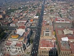 Looking North (beeffaucet) Tags: mexico df arial torrelatinoamericana