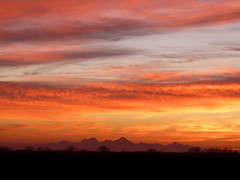 Sutter Butte Sunset (Vurnman) Tags: sunset clouds commute norcal borrowed sutterbuttes buttes buttecounty