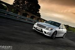 Mercedes-Benz C63 AMG (Fabio Aro) Tags: sedan germany c fabio class german mercedesbenz mb v8 amg naturally aro c63 aspirated fabioarocom 63l