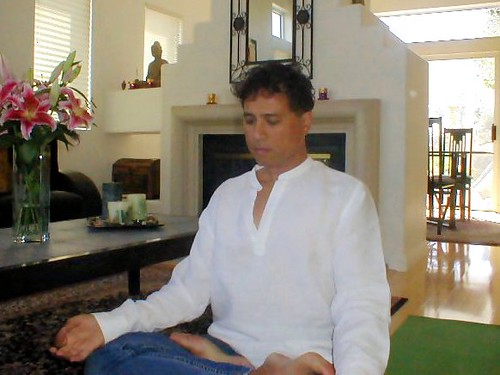 Seated in Meditation...