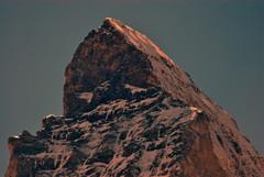 Matterhorn / Monte Cervino Summit (Pete Hurford) Tags: schweiz switzerland suisse zermatt matterhorn ch schwarzsee montecervino august2008 tamronspaf200500mmf563dildif