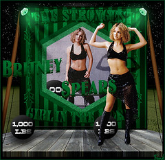 Britney Spears - The Strongest Girl In The World (La Chica Mas Fuerte Del Mundo) (FrankyI'm Back) Tags: world girl del la mas chica spears circus britney mundo the strongest in fuerte frankysboomboxblogspotcom