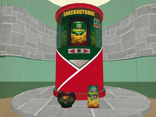 Virtueller Snackautomat mit Affiliate-Funktion