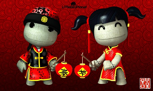 LittleBigPlanet - Chinese New Year poster
