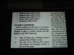 Scanned Rules on iPod Touch
