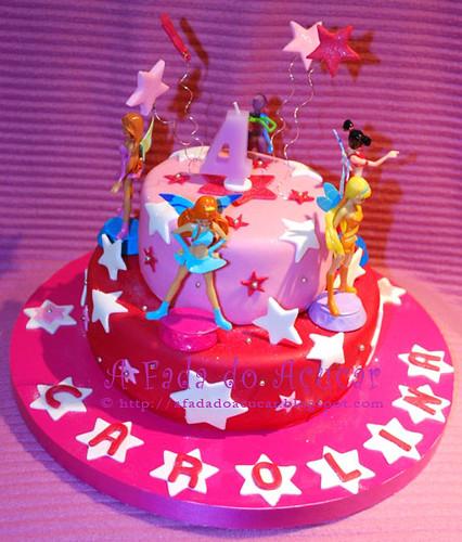 Winx Cake - Carolina