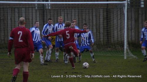 Cliffe FC vs. Leven MC Res 25Jan09