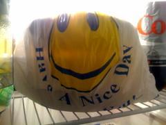 January 24 (Joe Turner Lin) Tags: bag shelf dietcoke refrigerator 2009 iphone haveaniceday