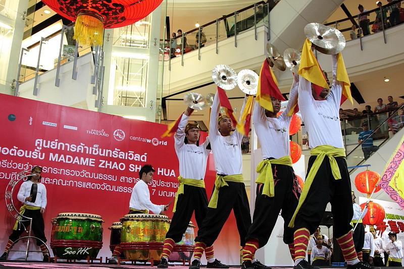 Drummers @ Central World, Bangkok, Thailand