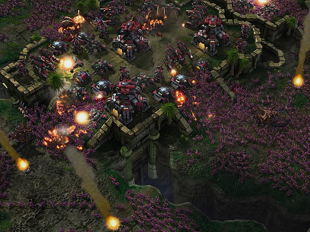 Zerg rush - Blizzard