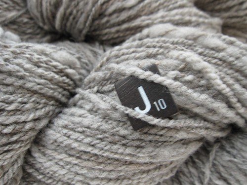 Gray Cormo Yarn Closeup
