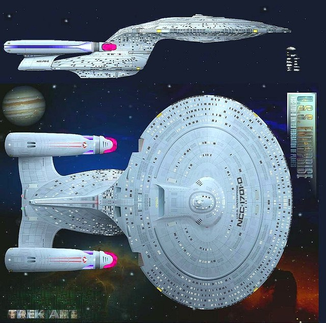 Startrek Wallpaper, star trek uss enterprise ncc 1701, uss enterprise star trek