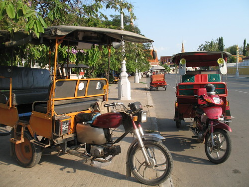 Two tuk-tuks