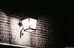 Night Scape (shoman666) Tags: fujineopan1600 nightscapeblackandwhitekodakhc110nikonf2vivitar70205zoom