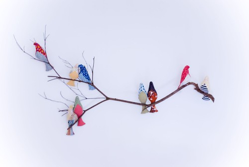 bird branch for baby's room 1