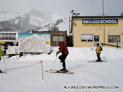 Ski and snowboard school