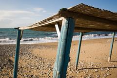 summer? why? (Sergio) Tags: winter sea beach shed hellas greece analipsi kyllini smcpentaxda1855mmf3556al ileia pentaxk200d