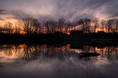 Tonight's Sunset (thephotographymuse) Tags: sunset nature spring indiana explore trail 213 hdr fishers explored