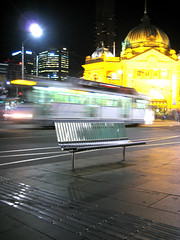 Tram to Flinders (mJgould) Tags: tram melbourne flinders