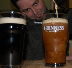 Day017 - One For Me and One For You - Cheers! (rabbibob) Tags: beer guinness 365 pint pouring stpatricksday goodhead day017 365days rabbibob dnd365 rabbibobcom