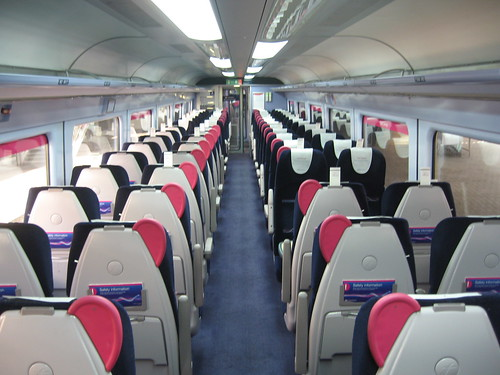 Train Chartering - First Great Western standard class carriage available for hire