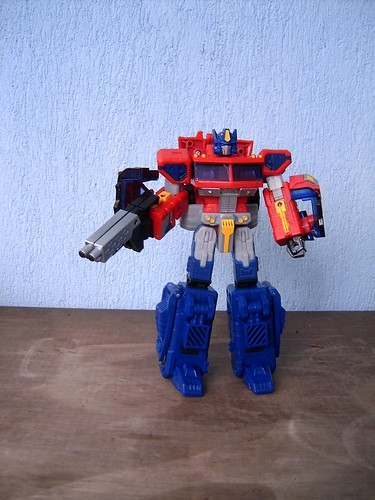 Optimus Prime Classics Voyager - My first Transformer 20- mar-2007