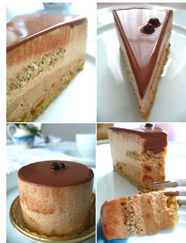 earl grey tea mousse cake