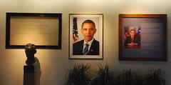 President Obama welcomes you to DOE (afagen) Tags: washingtondc dc washington doe barackobama lenfantplaza departmentofenergy presidentobama jamesforrestal stevenchu
