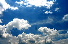 rolling clouds (preacha_tink) Tags: blue sky white clouds outside outdoors open power smoke bluesky opensky skyopen