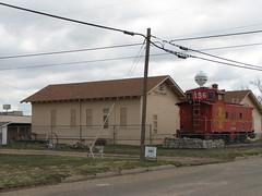 IMG_10764 (old.curmudgeon) Tags: santafe texas caboose depot atsf santafedepot 5050cy