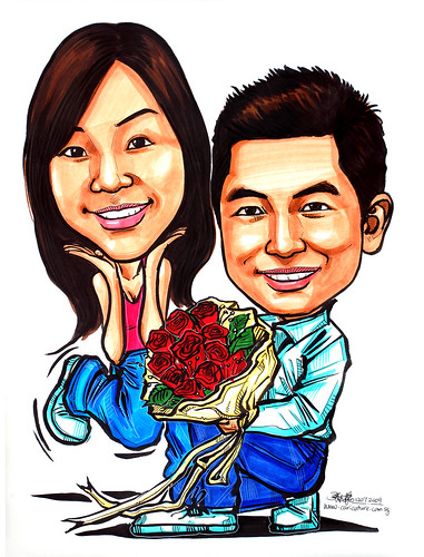 Couple caricatures - proposal