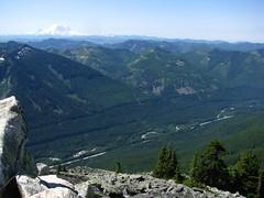 View toward Rainier from Summit