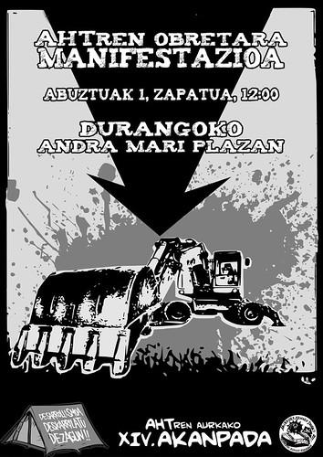 ManifestazioaObretaraDurango2009