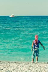 kiddo @Lalaria #2 (beekoz) Tags: vacation 2009 skiathos lalaria skia8os