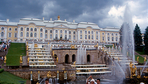 Peterhof - Grand Palace and Grand Cascad by roger4336, on Flickr