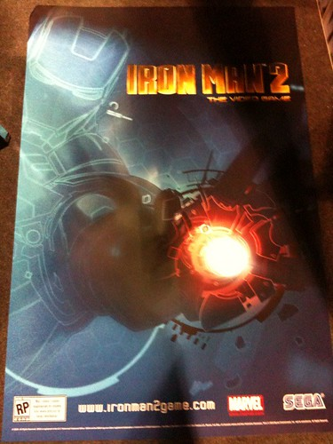Limited Edition Iron Man 2 Poster