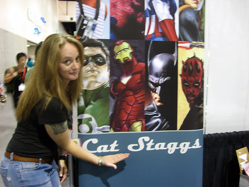 Star Wars Artist. Star Wars artist Cat Staggs!