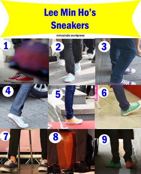 Lee Min Ho's Sneakers